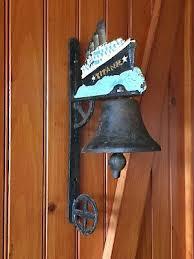 vintage cast iron titanic wall mount
