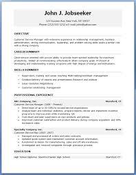 Resumes Free Download Free Resumes Templates To Download Sample Word Resume