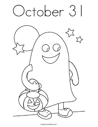 Small Picture October 31 Coloring Page Twisty Noodle