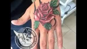 татуировка на руке роза на кисть тату в днепре Youtube