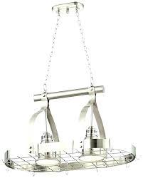 chandelier pot rack chandelier pot rack hanging pot rack light fixture brushed nickel pot rack chandelier