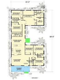 U Shaped House Plans Fair Download U Shaped House Plan Lake Adhome  Decorating Design