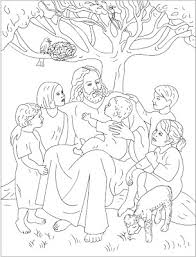 Jesus Coloring Pages For Kids At Getdrawingscom Free For Personal