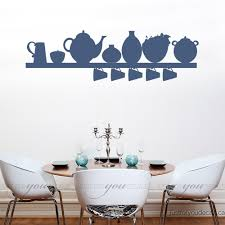 Wall Decor Stickers For Living Room Kitchen Wall Decal Dining Room Wall Decals Kitchen Shelf