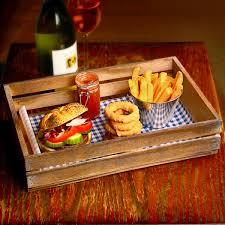 Presentation Foods Wooden Food Presentation Crate 35 X 23 X 8cm