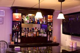 basement bar lighting. a basement bar installed in finished geneva lighting