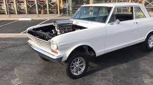 1963 Nova Gasser walk around for sale - YouTube