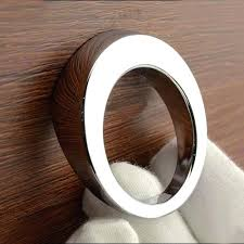 modern cabinet knobs. Modern Drawer Knobs Simple Single Hole Small Knob Round Zinc Alloy Bright Chrome Furniture Handle Cabinet