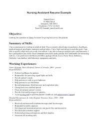 Best Resume Format For Nurses Custom Nurse Assistant Resume Sample Certified Nursing Assistant Resume
