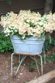 Zinkwanne Dekorieren Mit Blumen Pinterest Zinkwanne Erde