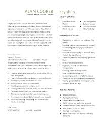 Objective Statement For Administrative Assistant Resume Create My Resume Hr Administrative Assistant Objective