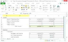 Expense Report Template Excel Free Income And Expenditure Template Excel