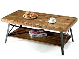 rustic industrial coffee table reclaimed wood and metal inspirational diy patio furn