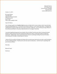 Application Sample For Internship Cover Letter Sample For Internship Green Brier Valley