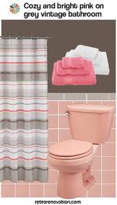 99 ideas to decorate a pink bathroom