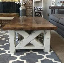 farm end tables chunky farmhouse coffee table farm tables wedding