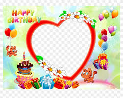 happy birthday images with photo frame happy birthday happy birthday frame