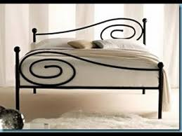 Wrought Iron Bed Frames - YouTube