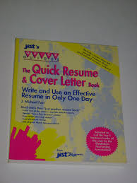 Quick Resume Cover Letter The Quick Resume and Cover Letter Book Write an Effective Resume 79