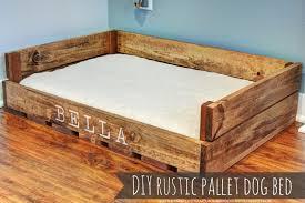 sweet bella love diy rustic pallet dog bed southern belle soul