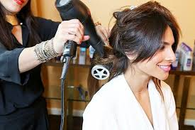 Latina teen first salon roller
