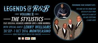 legends of r b volume ii the stylistics and special guest lenny williams