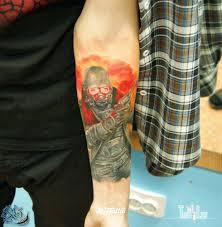противогаз значение татуировок в россии Rustattooru