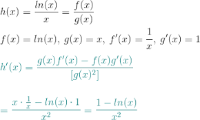 Finding The Derivative Of Ln X X How To Steps Study Com