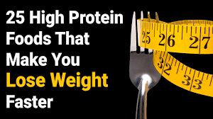 make you lose weight faster protein foods