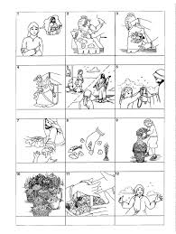 worksheet feeds the coloring page miracles of for kids worksheets pages shared by werner miracle