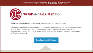 stanford epgy education program for gifted youth