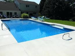 cantilever pool coping rectangle pool with new liner 2 skimmers new plumbing lines cantilever coping and cantilever pool coping