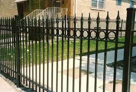 metal fence styles. Wrought Iron Fence Styles Ornamental Designs Metal Design Plans A