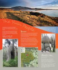 Aboriginal Interpretive Signs Gulaga National Park The