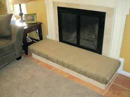 fireplace hearth guards cover diy make cushion save for home hearths house baby childproof your fireplace hearth
