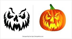 Scary Pumpkin Carving Patterns New Free Scary Pumpkin Carving Stencils Clown Patterns Killer Templates