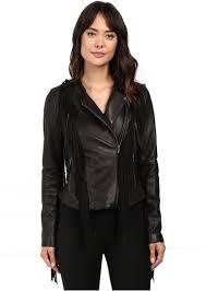 asymmetrical fringe leather jacket