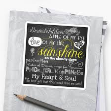 Grandkids Quotes Unique Grandchildren Love Of My Life Chalkboard Quotes Stickers By
