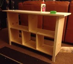 How To Build A Sofa Table Easy DIY Step By Step RemoveandReplacecom
