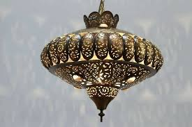 pierced brass pendants in the style of pinto design this light moroccan pendant lamp hanging lamps