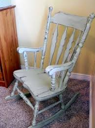 refinish rocking chair. Brilliant Rocking Little Bit Of Paint My Motheru0027s Rocking Chair Painted Chairs  Rustic Chairs With Refinish 0
