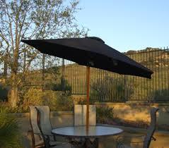 9 outdoor patio umbrella with hand crank and tilt