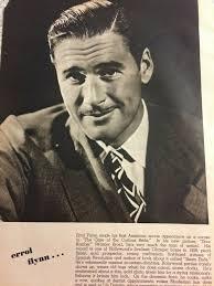 Errol Flynn, Priscilla Lane, Double Full Page Vintage C