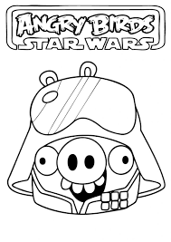 Angry Birds Star Wars Coloring Page 6769 Hypermachiavellismnet