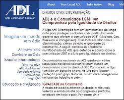 Resultado de imagem para ADL Liga anti difamação sionista