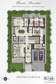 luxury villa floor plans india