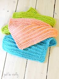 Knit Dishcloth Pattern Delectable Farmhouse Kitchen Knitted Dishcloths Just Be Crafty