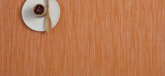 chilewich  table  placemats  runners  bamboo  mandarin