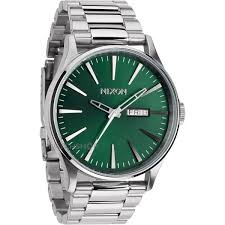 spring into green emerald watches to celebrate watch news nixon men s the sentry ss watch