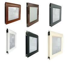 door window frame kit experience modern remote control overhead sectional aluminum glass panel garage doors cost